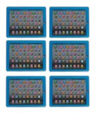 YPAD Multimedia Learning Computer Toy Tool for Kids Machine (Blue) Set of 6