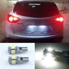2x Error Free LED License Plate Lights For Mazda 2 3 5 6 CX-5 CX-7 CX-9 MX-5 RX8