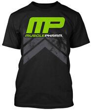 MusclePharm Mens MP Chevron T-Shirt - Black - S - mma training gym ufc