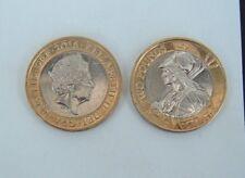 GB Elizabeth II. £ 2 LB (environ 0.91 kg) 2016 Britannia inverse. Coin chasse