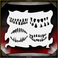 """Monster Mouths"" Airbrush Stencil Template Airsick"