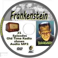 Frankenstein 21 OTR Old Time Radio Episodes Audio MP3 on CD