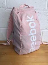 Reebok Pink BackPack, Rucksack, Bag