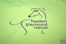 Cool T Shirt Freedom Greyhound Rescue Volunteer Short Sleeves Gildan