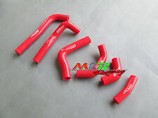 for HONDA CRF450R CRF 450 R 2002 2003 2004 silicone radiator hose red new