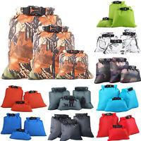 Waterproof Dry Bag 3PCS Set Drifting Camping Storage Bag Outdoor Portable Beach