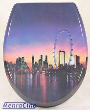 WC-Sitz Toilettendeckel London Eye mit Absenkautomatik-72