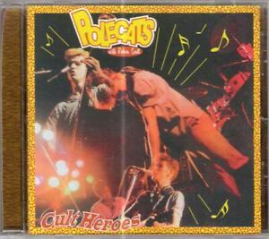 Polecats - Cult Heroes (CD Album)