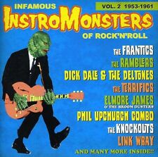 Various Artists - Infamous Instro-Monsters 2 / Various [New CD]
