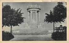 A1332) ANCONA MONUMENTO AI CADUTI VIAGGIATA NEL 1933