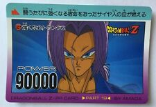 Dragon Ball Z PP Card 827