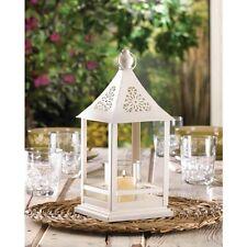 15 White Gazebo Lantern Candle Holder Wedding Centerpieces