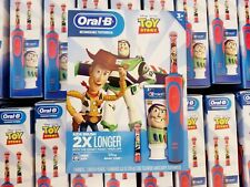 Oral-B Kids Toy Story Rechargeable Electric Toothbrush Crest Toothpaste