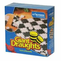 GIANT DRAUGHTS CHECKER OUTDOOR SUMMER FUN FAMILY KID ADULT BBQ PARTY FUN NEW