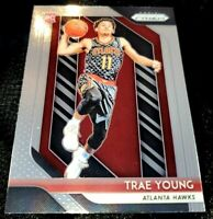 TRAE YOUNG 18-19 PRIZM BASE ROOKIE CARD RC #78 SSP SHARP ATL HAWKS