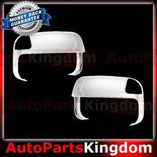 10-16 Dodge Ram 1500+2500+3500+HD Triple Chrome Top Half Tow Towing Mirror Cover