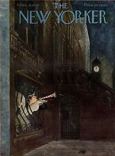 1949 New Yorker December 31 Welcoming the New Year on 5th Avenue - Mary Petty