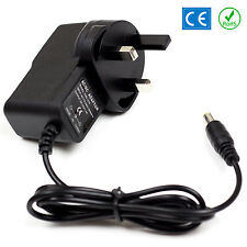 12v Dc Power Supply Para Yamaha Psr-150 Teclado Adaptador de enchufe PSU Reino Unido Plomo 1a