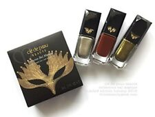 CLE DE PEAU COLLECTION BAL MASQUE NAIL LACQUER   TRIO NEW IN BOX SOLD OUT