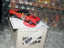 Matchbox 1:43 Coca-Cola 1967 Pontiac GTO YMC03/B-M w/COA & Boxes