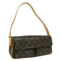 LOUIS VUITTON VIVA CITE MM HAND BAG PURSE MONOGRAM CANVAS DU1023 M51164 38196