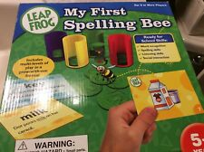 Leap Frog My First Spelling Bee Ready for School Skills age 5+