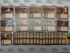 60 Card Deck - MONO RED BURN - Modern - Ready to Play - Magic MTG FTG