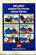Lego-- Mit Lego erlebst du immer etwas Neues -Werbung von 1974