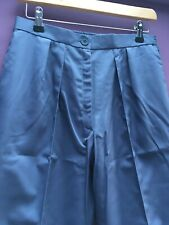 BNWT  Boyd Cooper Work Nurse, Carer, Driver, Trousers postman Blue Size UK 14