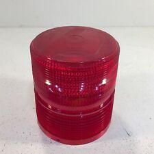 Federal Signal 131st Strobe Light Lens Red Lens Only