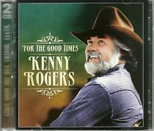 FOR THE GOOD TIMES KENNY ROGERS - 2 CD BOX SET - ELVIRA, LAY IT DOWN & MORE