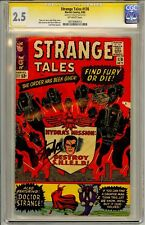 "STRANGE TALES #136 CGC SS STAN LEE SIGNED ICONIC  SIGNATURE WITH CAPITAL ""L"""