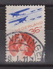 LP 9 luchtpost 9 TOP CANCEL SCHEVENINGEN NVPH Nederland Netherlands airmail