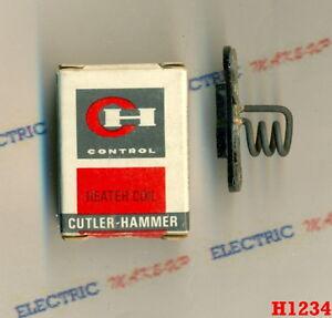 NEW Cutler Hammer HEATER COIL H1234 1234A 10177H 1234 H1234A