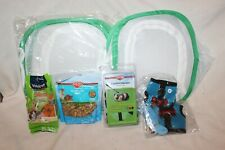 Lot of 10 Small Animal Harness Food Soft Cage Hamster Rabbit Guinea Pig Gerbil