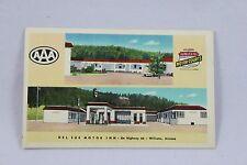 """Del Sue Motor Inn"" Williams Arizona Members United Motor Courts AAA #1  DA"
