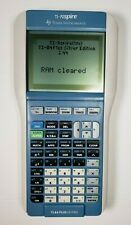 Texas Instruments TI-Nspire TI-84 Plus Keypad Graphing Calculator White and Blue
