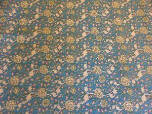 Vintage The William Morris Collection by Rose & Hubble 'Wild Tulip' Fabric
