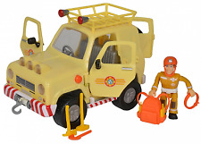 Simba 109251072 - Feuerwehrmann Sam - Sam 4x4 Geländewagen - Neu