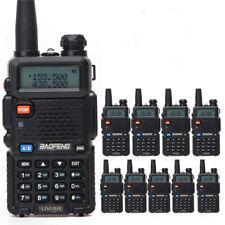 10Pc Baofeng UV-5R Portable Radio Walkie Talkie UV5R 5W FM Radio 128CH Dual Band