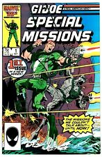 GI JOE SPECIAL MISSIONS #1 (NM) Mike Zeck Cover! Herb Trimpe Art! Marvel 1986
