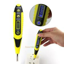 Electric Digital Test Pen AC/DC Voltage Measure Detector Meter Tester 12V-250V