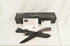 Buck Knives 535 Open Season Moose Skinner BOS S35VN OD Micarta 0535BKSBOTM