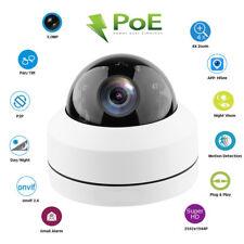 5.0MP Mini PTZ IP Camera HD 2592x1944 Pan/Tilt 4X Zoom IR-Cut Dome Camera PoE