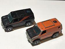2-1982 Hot Wheels Baja Breaker un equipo Van Real Riders