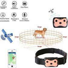 Collier chien chat localisation GPS Tracker imperméable suiveur traceur position