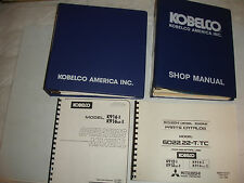 Kobelco K916 K916-II HYD Excavator SHOP MANUAL PARTS & OPERATORS Catalog Service
