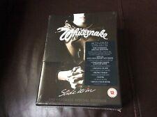 WHITESNAKE  SLIDE IT IN  6CD+DVD SUPER DELUXE BOX SET NEW AND SEALED.   K1