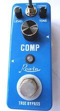 ROWIN LEF-333 Comp Mini (compresor) Pedal De Efecto Para Guitarra con verdadera por pasar