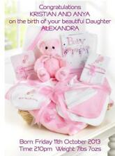 Unbranded New Baby Greeting Cards